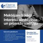 VAKANCES DELNĀ - INTEREŠU AIZSTĀVĪBAS UN JURIDISKAJĀ JOMĀ
